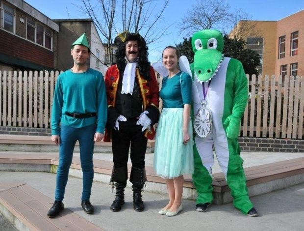 World Book Day 2015: teachers get into costume – in ...