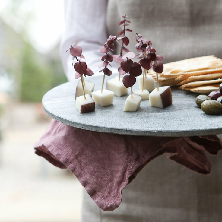 Silver Slate Cheese Board in House+Home KITCHEN+DINING Tabletop Serveware at Terrain