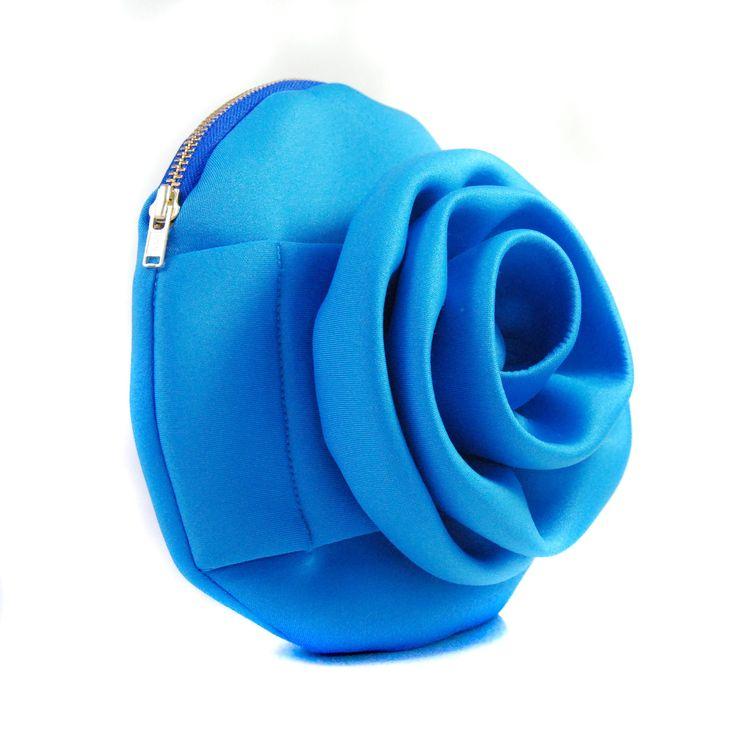 A Neoprene Rose Blue