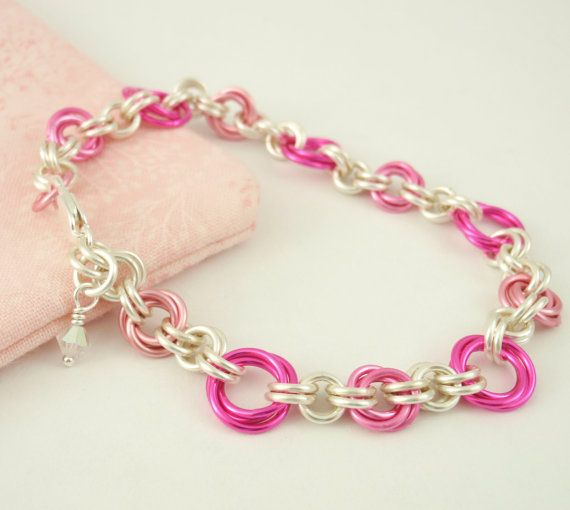 Eye Candy Chainmaille Bracelet Kit – Perfect for Beginners, Fun for All Jewelry