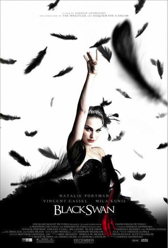 "Black Swan (2010) A ballet dancer wins the lead in ""Swan Lake"" and is perfect for the role of the delicate White Swan - Princess Odette - but slowly loses her mind as she becomes more and more like Odile, the Black Swan.  #movie"