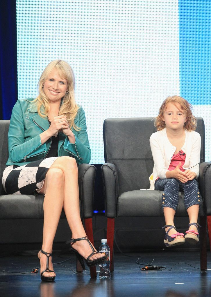 Lucy Punch and Maggie Elizabeth Jones - 2012 Summer TCA Tour - Day 3