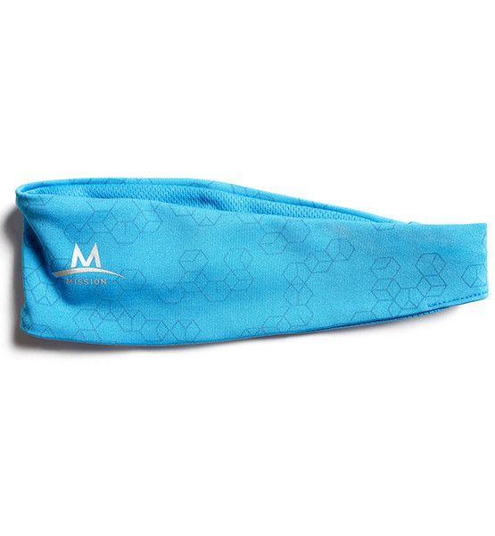 Reflective Cooling Headband | Blue