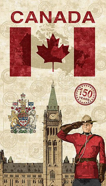 Canadian Sesquicentennial - Panel