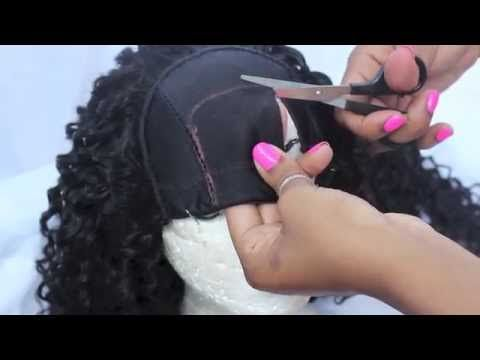 How to Make a U-Part Wig ❤ DIY Tutorial - YouTube