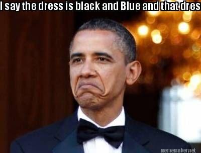 Black dress meme editor