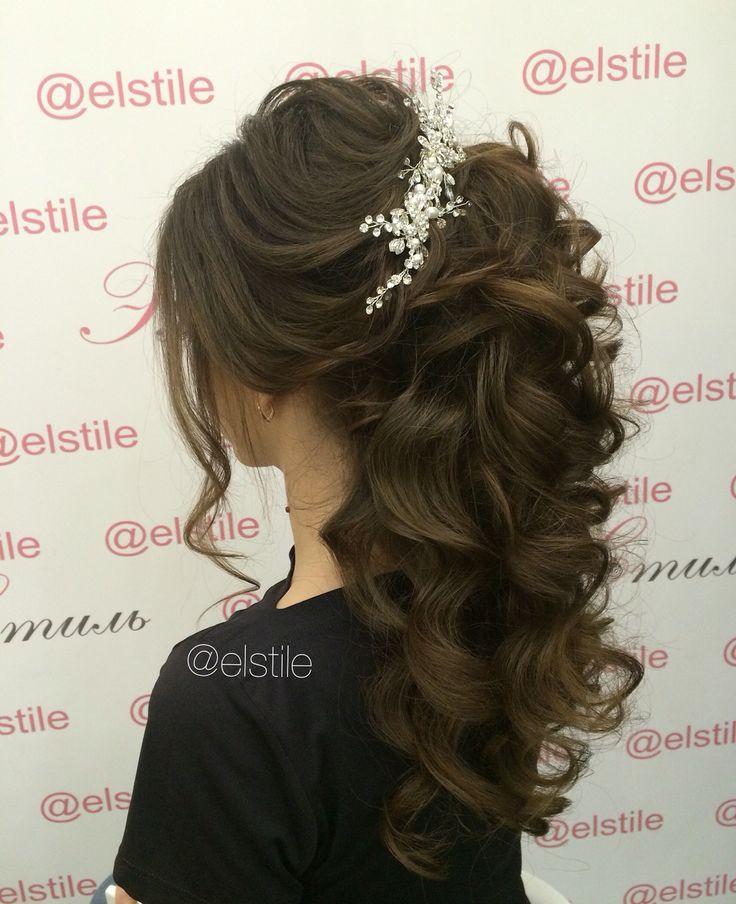 Lovely Bridal Look Make Up Hairstyles Web Www Elstile Ru: Trendet E Frizurave Te Ketij Viti,frizura 2016,frizura
