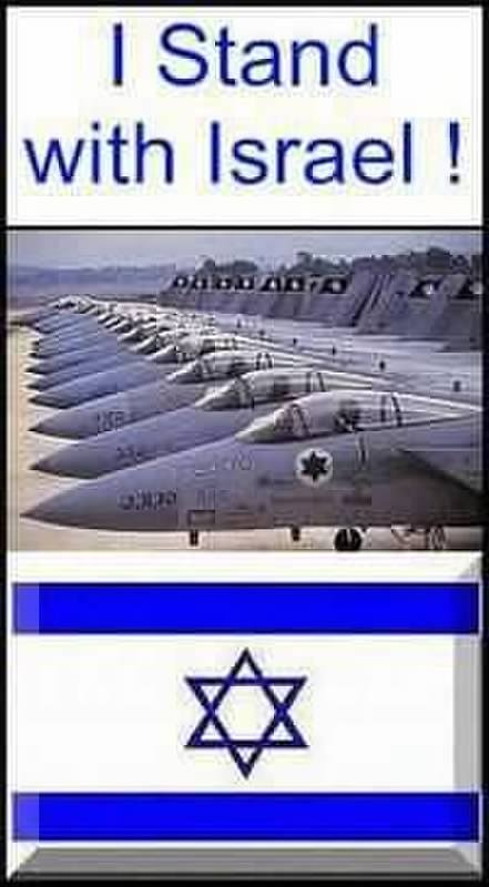 stand with Israel! if you can't understand why you shouldn't be in this country!