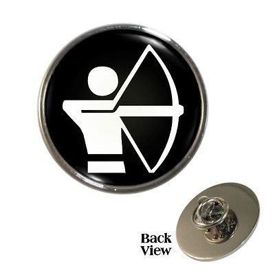 Archery olympic sign metal pin badge #toxophilite #bowman #archer new,  View more on the LINK: http://www.zeppy.io/product/gb/2/251531038565/