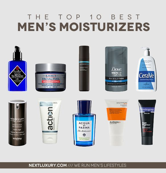 Buyer's guide our men's magazine put together for the best men's moisturizers. See the full list here: http://nextluxury.com/mens-health-and-fitness/hydrate-your-skin-with-the-best-moisturizer-for-men/