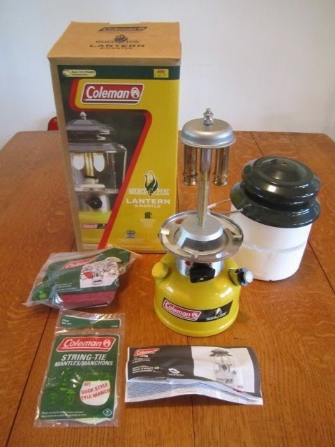 Coleman Select-e-Fuel Corn Lantern 4/06 NIB 2-Mantle 4/06 Rare very few made | eBay