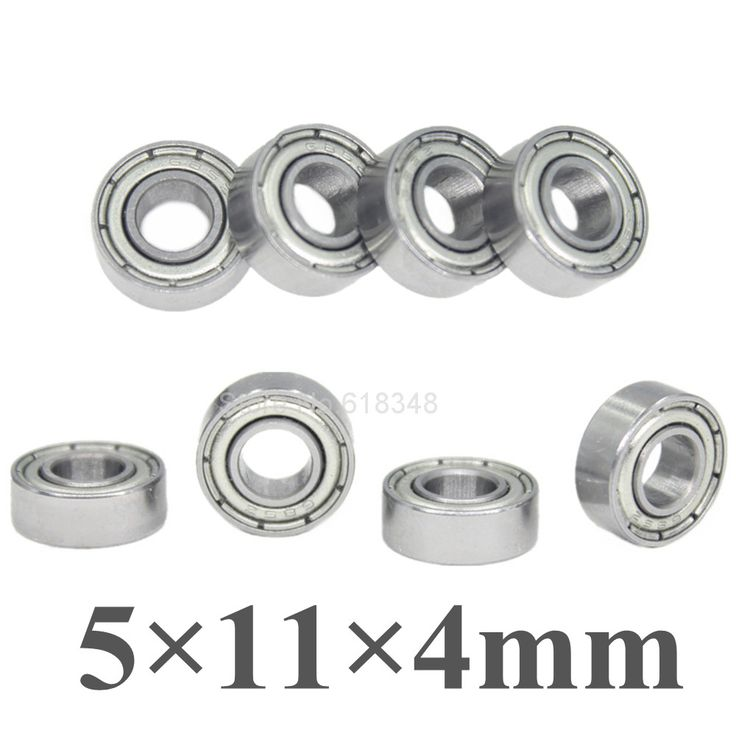 $2.69 (Buy here: https://alitems.com/g/1e8d114494ebda23ff8b16525dc3e8/?i=5&ulp=https%3A%2F%2Fwww.aliexpress.com%2Fitem%2F8pcs-Ball-Bearings-5x11x4mm-Replacement-of-TRA5116-For-Traxxas-Slash-Rustler-4x4-1-10-RC-Car%2F32711651972.html ) 8pcs Ball Bearings 5x11x4mm Replacement of TRA5116 For Traxxas Slash Rustler 4x4 1/10 RC Car Spare Parts Fit HPI Savage XS Flux for just $2.69