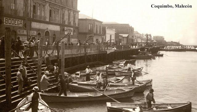 Imágenes de Chile del 1900: Coquimbo