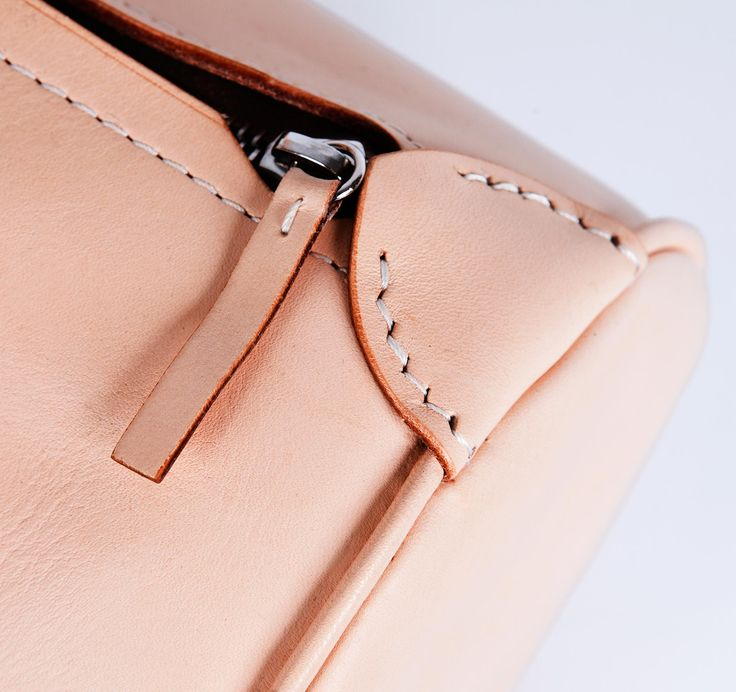 details - Charoussas SS2013 Small Tube Leather Bag