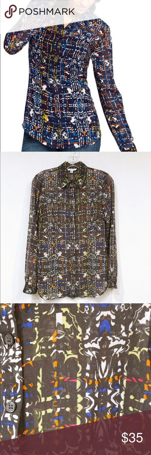 ‼️On Sale‼️ Cabi Festival blouse Excellent condition. No trades. 0905 CAbi Tops Blouses