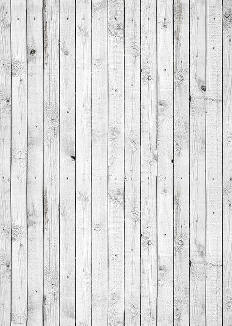 Enviar laminado! 5'x 7 ' blanco el contexto de madera - rústico blanco pintado tablones palabra de tela impresa Photography fondo G0575