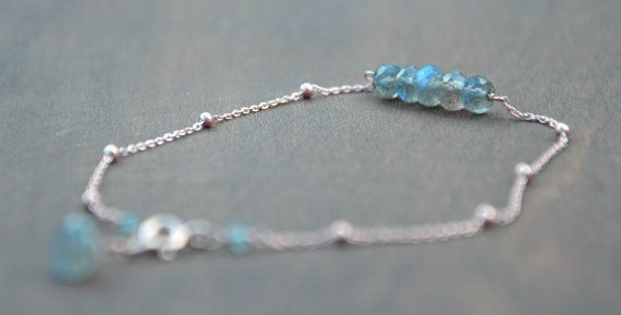 Hand made beads and chain bracelet  925 sterling silver rose gold plated chain,clasp and wire used  made with faceted rondelle labradorite stone beads  This bracelet is made with fine quality labradorite faceted rondelle beads. I have used rose gold plated 925 sterling silver chain and clasp, labradorite, labradorite bracelet, chain bracelet, charm bracelet, rose gold bracelet, sterling silver bracelet, hand made bracelet, gemstone bracelet