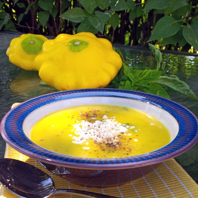 Patty Pan Squash Soup | www.jenniferdyck.com