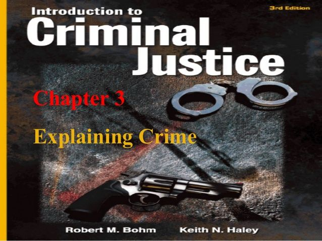 Chapter 1 Crime and Justice in the United States Chapter 1 Crime and Justice in the United States Chapter 3 Explaining Cri...