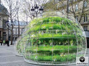 La bulle verte: 4 lieux symboliques de la capitale - Jardins de Babylone