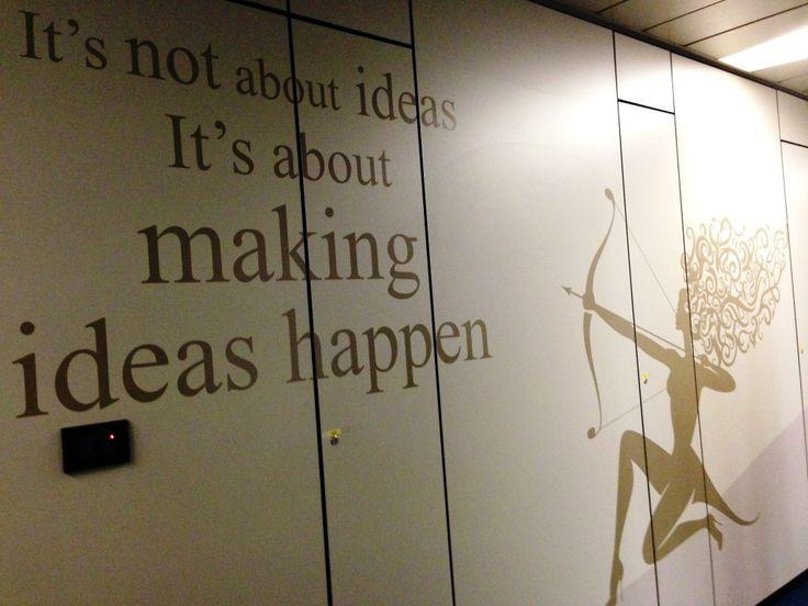 #LEAD It's not about ideas. It's about MAKING IDEAS HAPPEN - Uffici #ALTEASpA a Lainate (MI)