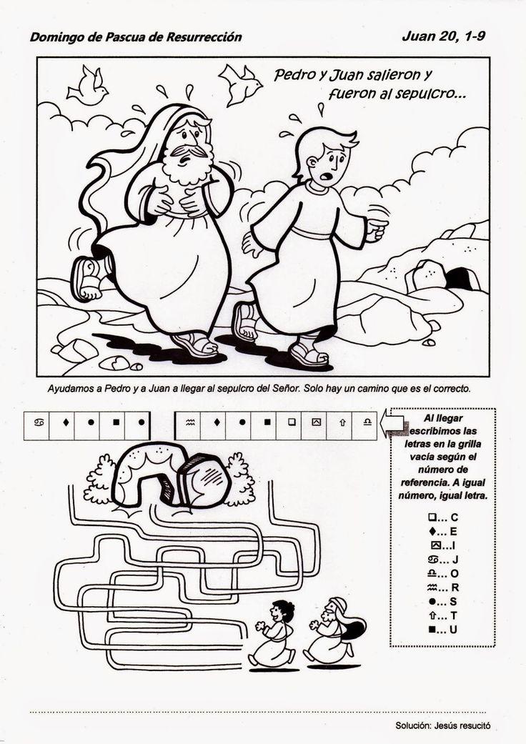 El Rincón de las Melli: Domingo de Pascua - CICLO B