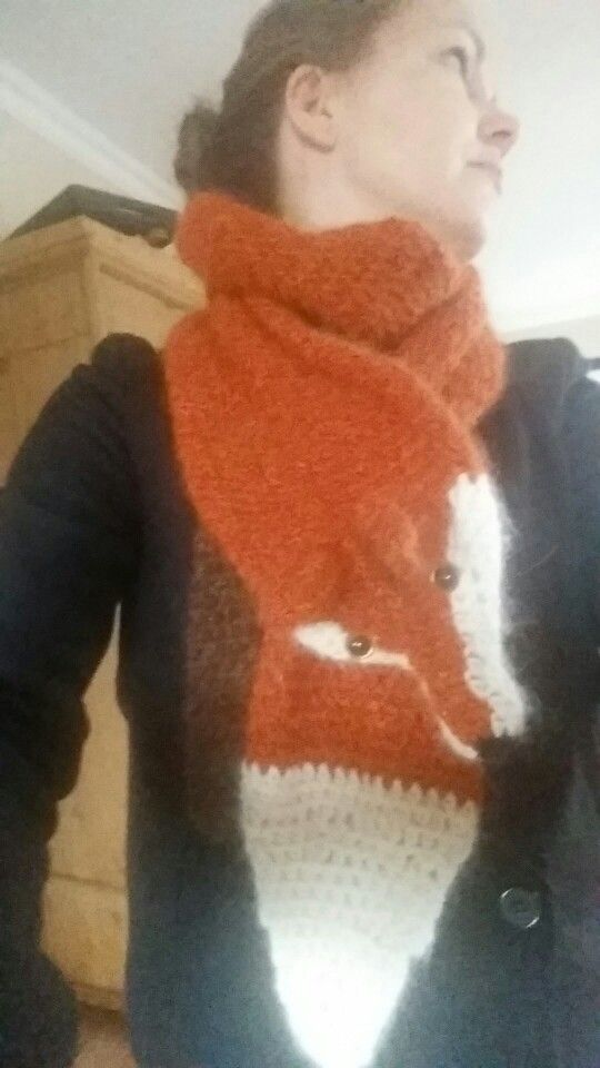 Fox scarf for me