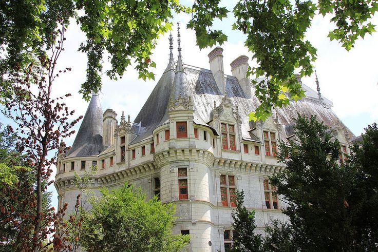#Château d'Azay-le-#Rideau, #Azay-le-Rideau, France   by Instant-Shots