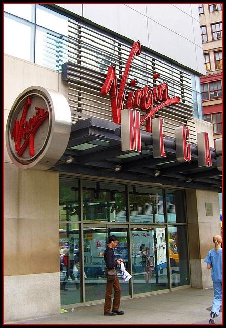 Virgin records megastore vancouver