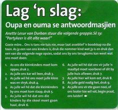 Image result for ouma en oupa dag idees