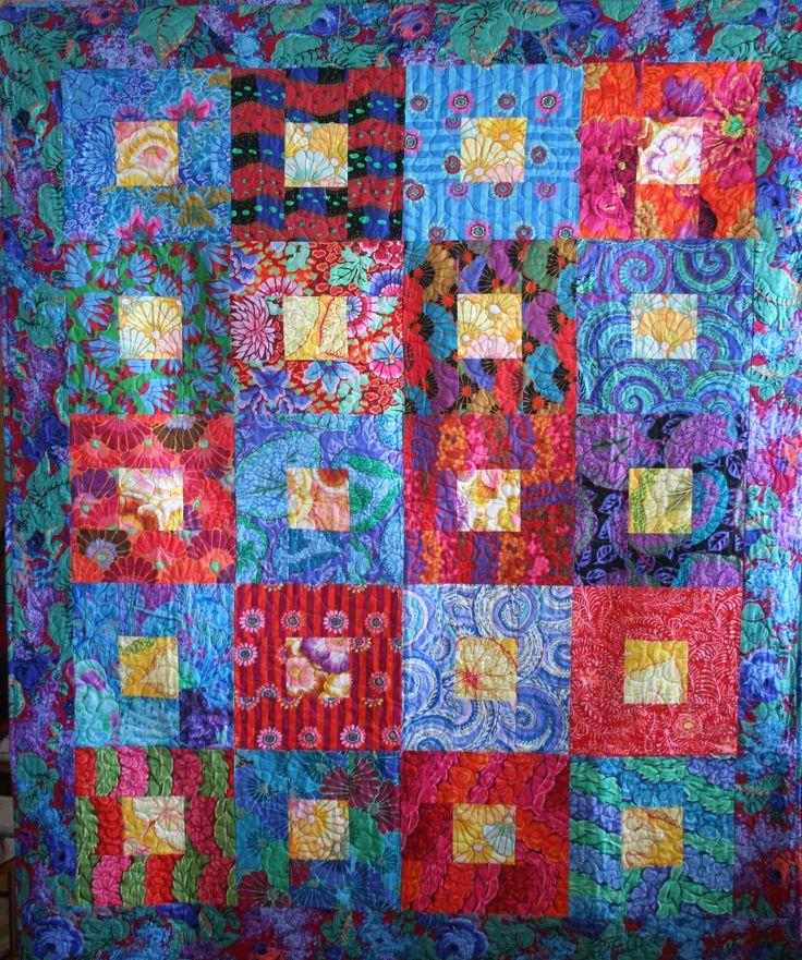 826 best Kaffe Fassett images on Pinterest | Jellyroll quilts ... : kaffe fassett quilt kits australia - Adamdwight.com