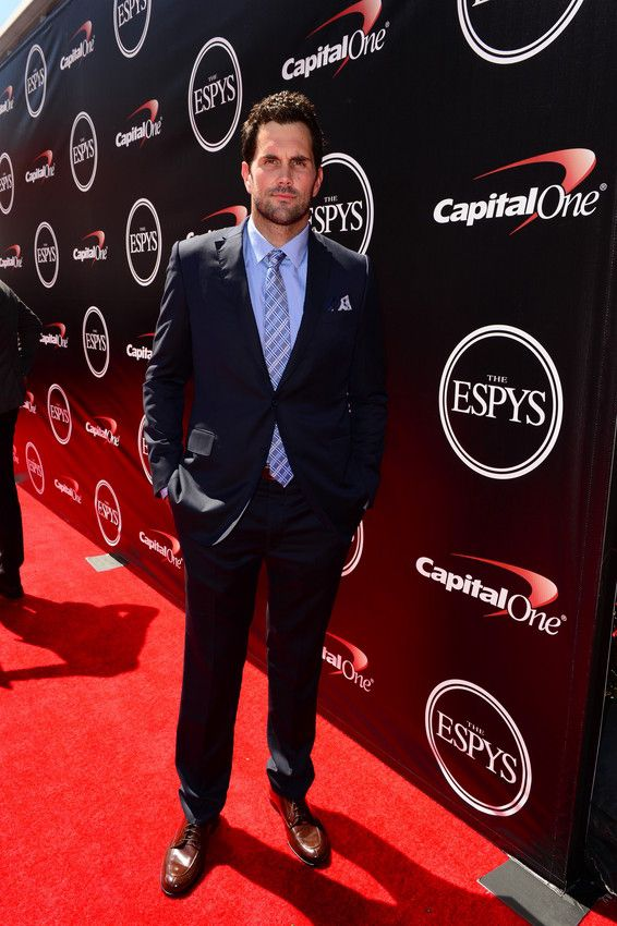 Matt Leinart on the ESPYS red carpet