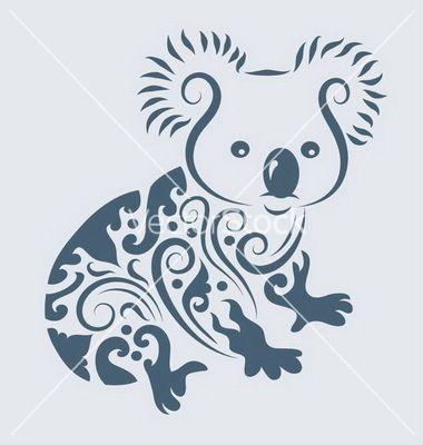 Google Image Result for http://www.vectorstock.com/i/composite/56,43/koala-ornament-vector-985643.jpg