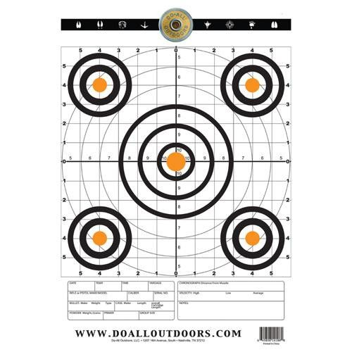Paper Target - Range, 12x18, Per 10