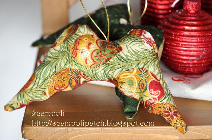 Alas de ngel para colgar de tu rbol de navidad a juego for Coronas de navidad hechas a mano