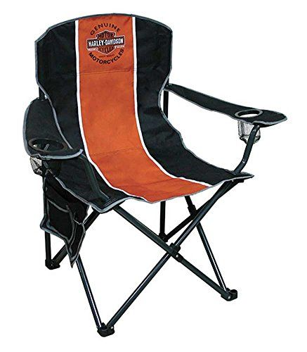 Awesome Introducing HarleyDavidson Bar Shield pact Chair X Size w Carry Bag CH Great product and Style - Unique packable chair Fresh