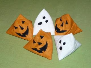 Halloween -i mini babzsákok