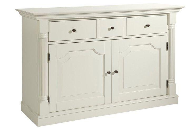 Sideboard weiß, ca. 85/130/45,5cm, pflegeleichte Oberfläche, heine home Jetzt …