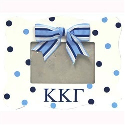 Hand painted KKG picture frame  www.sassysorority.com: Gamma Pictures, Picture Frames, Kappa Gamma, Frames Ideas, Squares Hands, Diy Pictures, Pictures Frames, Gamma Gifts, Kappa Gifts