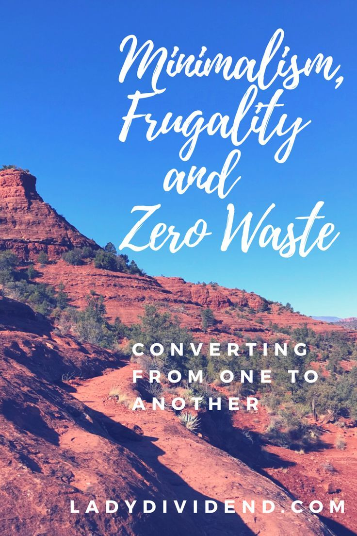 Minimalism, frugality and zero waste. Learn about these underground movements bringing an increase in happiness and intention.   http://ladydividend.com/minimalism-frugality-zero-waste/  #minimalist #frugal #zerowaste