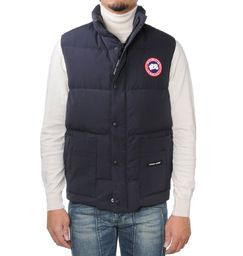 Canada Goose Gilet -  € 250 - The most lightweight garment from Canada Goose collection is the gilet made in high-tech fabric goose down padded. It is a practical and lightweight garment suitable for sport. Zip and snap-buttons closure. Two pockets on the front. Waist drawstring. Shorter on the front and longer at the back -  Available in different colours -  Complete your look on http://www.massaboutique.eu/man/clothing/canada-goose/28210-canada-goose-gilet