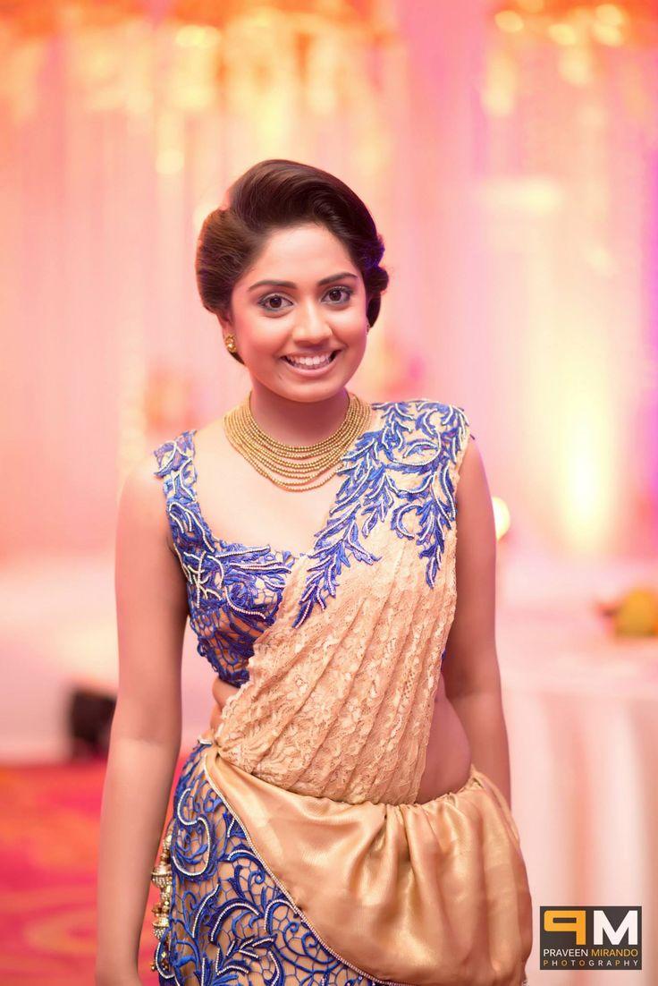 Sri Lankan Bridesmaid Saree B S Pinterest Saree And