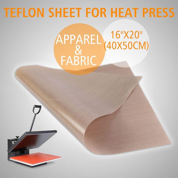 1pc 16 Quot X20 Quot Teflon Sheet Pressing Transfer Heat Press