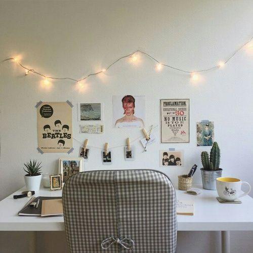 Kids bunk bed and desk - Room Desk And Grunge Bild Room Inspo Pinterest Desks And