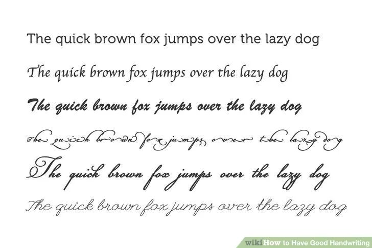 Image titled Have Good Handwriting Step 5