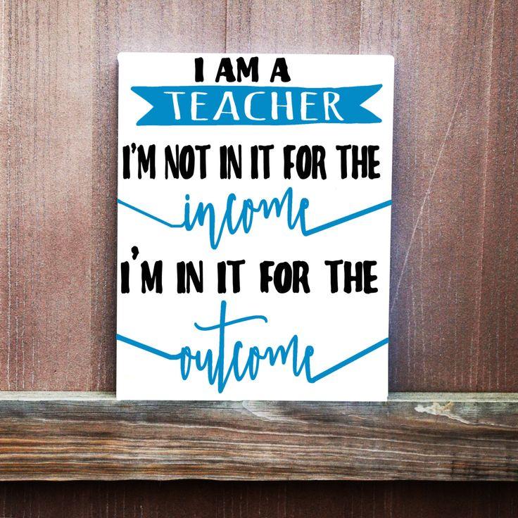 Birthday Quote For Teacher: 25+ Best Ideas About Teacher Canvas On Pinterest