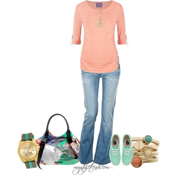 """""""Maternity Set - Featuring Paulina maternity: T-Shirt Cool Runnings"""" by mystyletrends on Polyvore"""