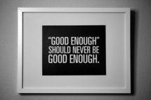 tough love print for the office