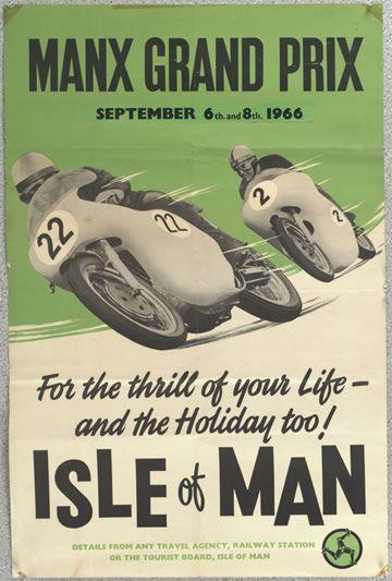 Old Norton motorcycles ad.