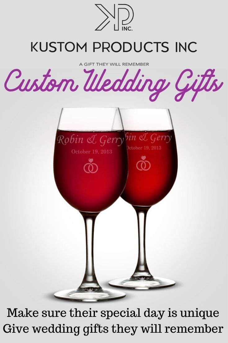 Unique Wedding Gifts In 2020 Unique Wedding Gifts Custom Christmas Gifts Engraved Birthday Gifts